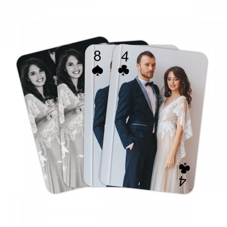 Personalised Playing Cards - Personalised Back and Fronts
