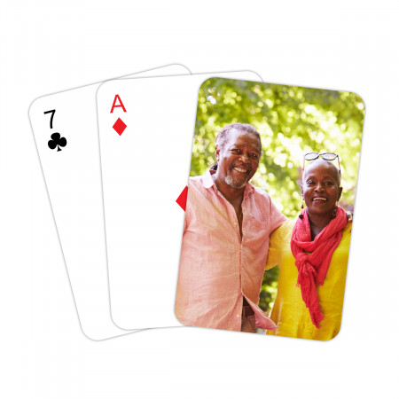 Personalised Playing Cards - Personalised Back