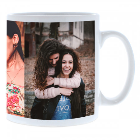 Double Image Photo Mug
