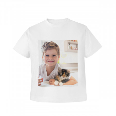 One Sided Childrens Photo T-Shirt