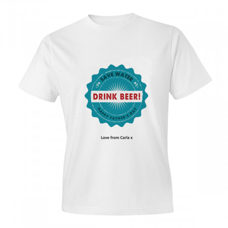 Father's Day Beer Adult T-shirt