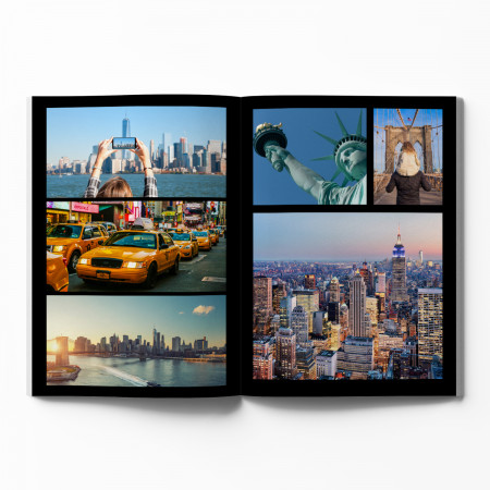 Softcover Photo Book with Black Theme