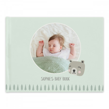 Softcover Photo Book with Baby Theme