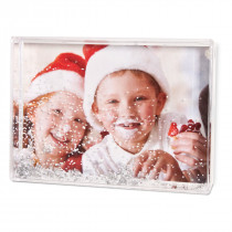 "6""x4"" Snow Frame with Print"