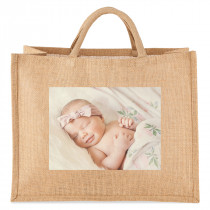 Personalised Photo Jute Bag