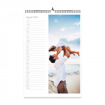 A3 Photo Calendar List Style