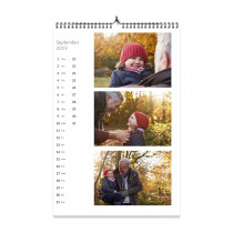 A4 Photo Calendar Panoramic Style