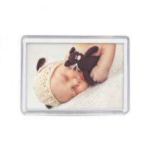 Acrylic Photo Fridge Magnet