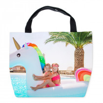 Photo Canvas Beach Bag
