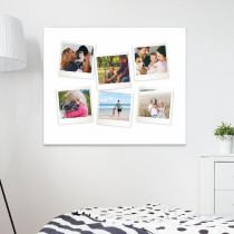 "20 x 16"" Retro Canvas Prints 6 angled Images"