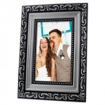Charlotte Silver Photo Frame