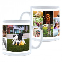 11 Image collage Mug