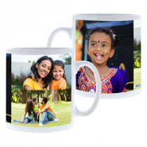3 Image Collage Mug