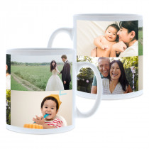 4 Image Collage Mug