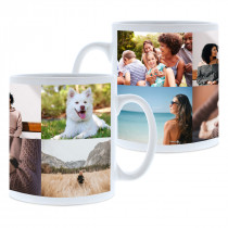 6 Image Collage Mug