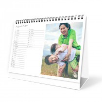 Desktop Photo Calendar List Style