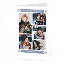 Christmas 5 Image Card