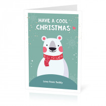 Christmas Polar Bear Card