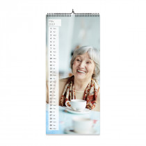 Slim Panoramic Photo Calendar