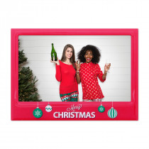 "Christmas Magnetic 6""x4"" Frame with Print"