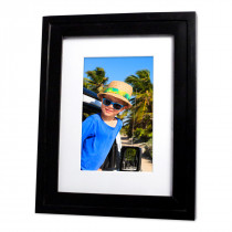 Natasha Black Photo Frame