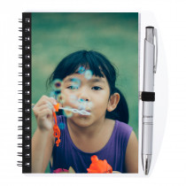Photo Notepad and Pen