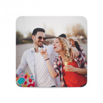 Square Plastic Photo Fridge Magnet