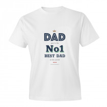 No.1 Dad Adult T-shirt