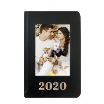 2020 Photo Diary Black with Print
