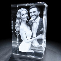 3D Tower Photo Crystal