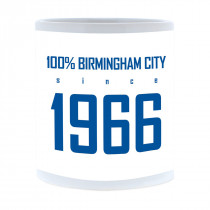 Birmingham City FC 100 Percent Mug