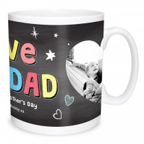Love you Dad Photo Mug