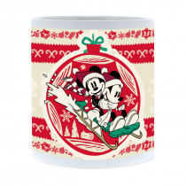 Disney Mickey Mouse & Friends Christmas Mickey & Minnie Mug