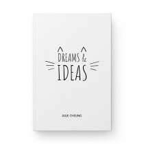 Dreams and Ideas Cat Notebook