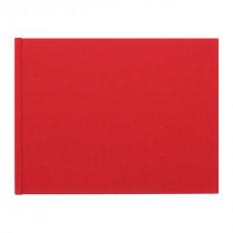Medium Landscape Photo book with Red Linen Cover