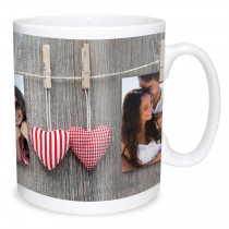 Hanging Dpuble Image Photo Mug