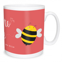 Meant to bee Text Mug