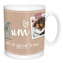 Mum Scrapbook Photo Mug