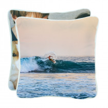 Double Sided Canvas Cushion with Piping