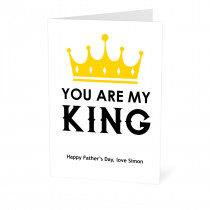 You Are My King Card