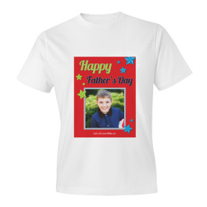 Red Father's Day Adult T-shirt