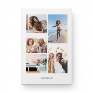 5 Image Collage Notebook