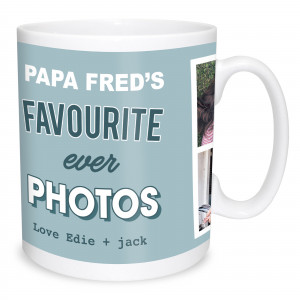 Favourite Photos Mug