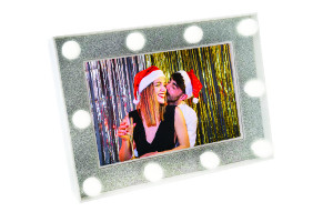 Silver Light Up Frame 6x4