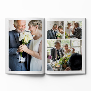 Hardcover Photo Book with White Theme